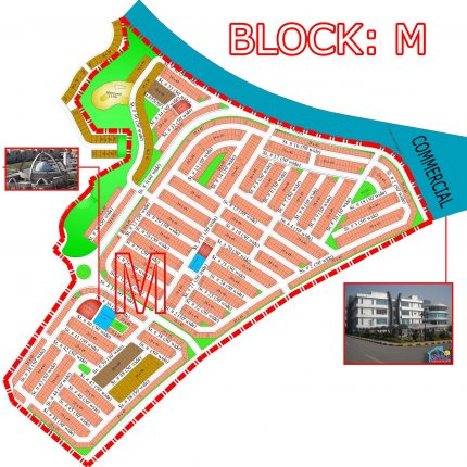 Bahria Town Phase 8 Islamabad is a 25 km drive from Zero Point and is located on National Highway GT Road.