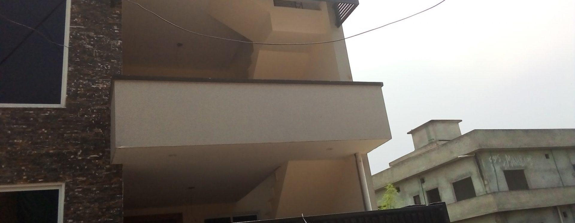 5 marla new house for sale in h-block soan garden.